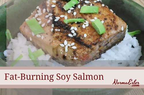Fat-Burning Soy Salmon