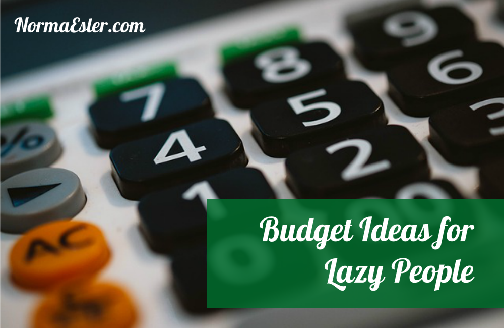 Budget Ideas for Lazy People