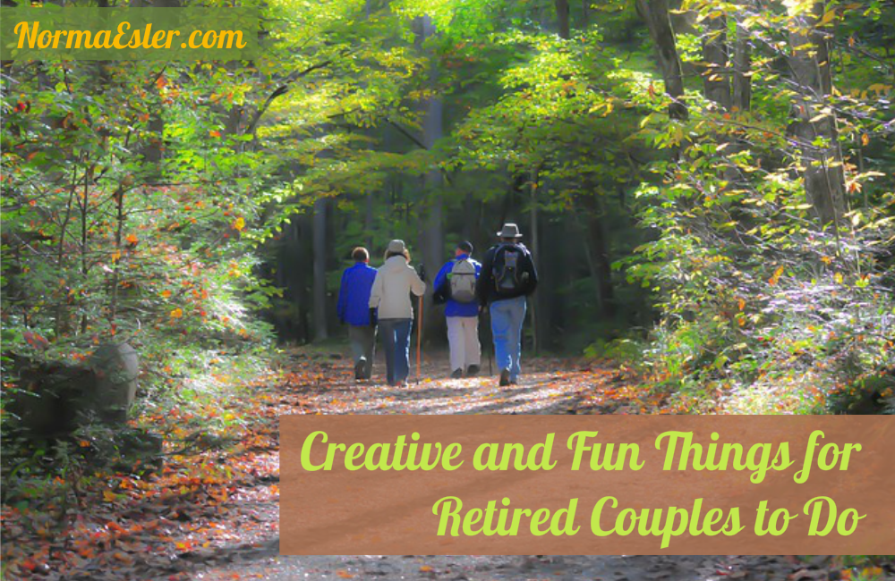 Creative and Fun Things for Retired Couples to Do