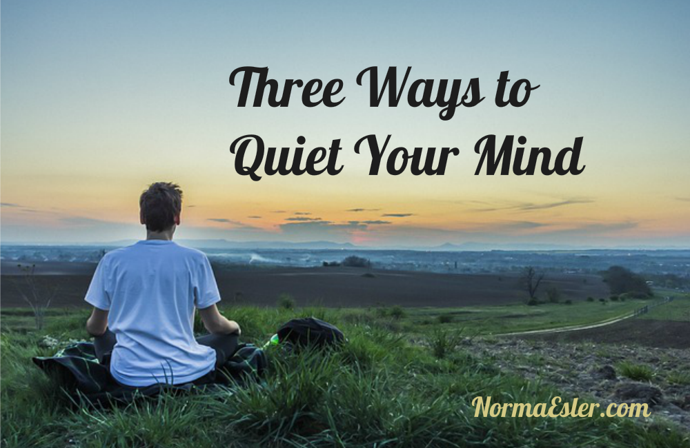ways to a quiet mind