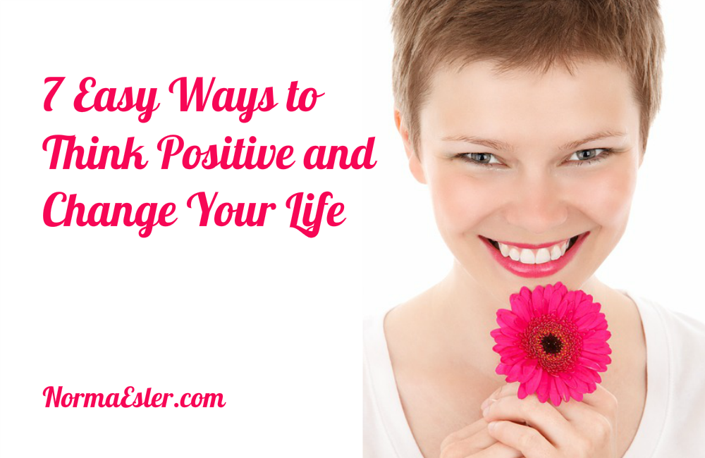 think positive change your life