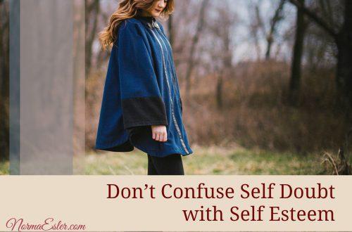 self doubt self esteem