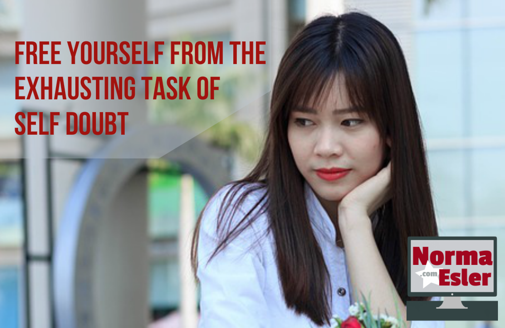 Free Yourself from the Exhausting Task of Self Doubt