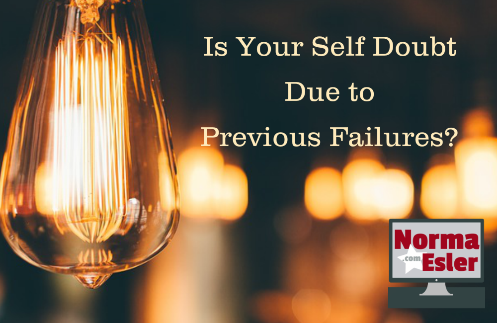 Is Your Self Doubt Due to Previous Failures