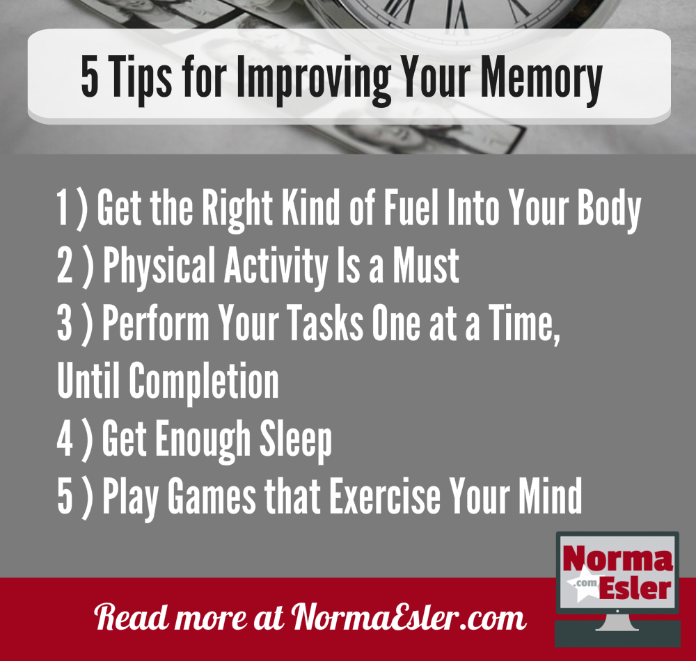 5 Tips for Improving Your Memory