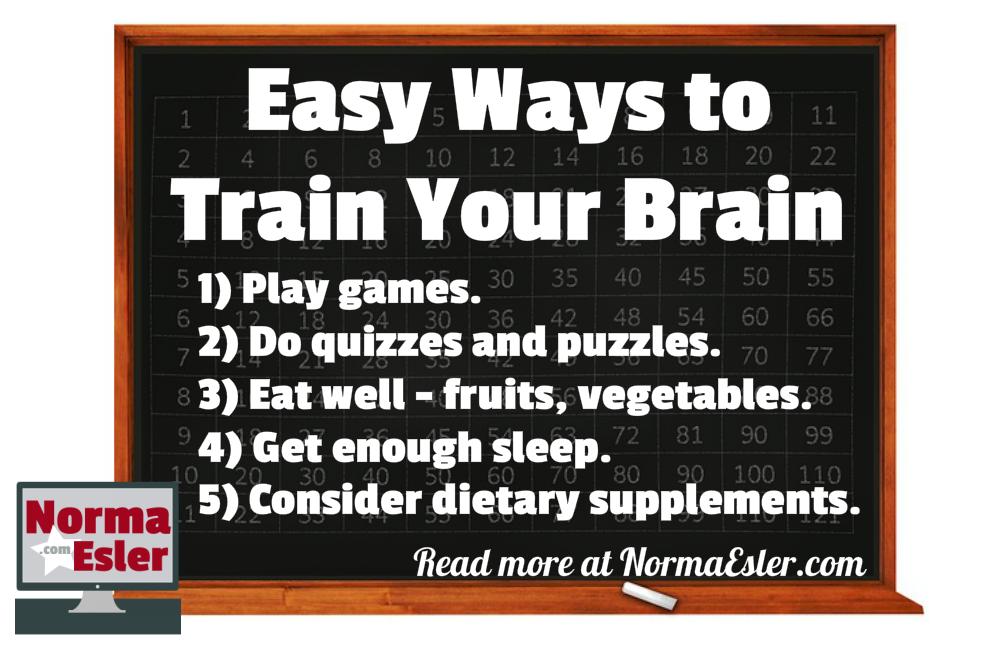 Easy Ways to Train Your Brain