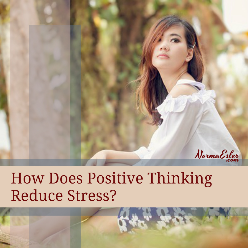 how does positive thinking reduce stress