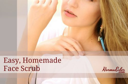 easy homemade face scrub