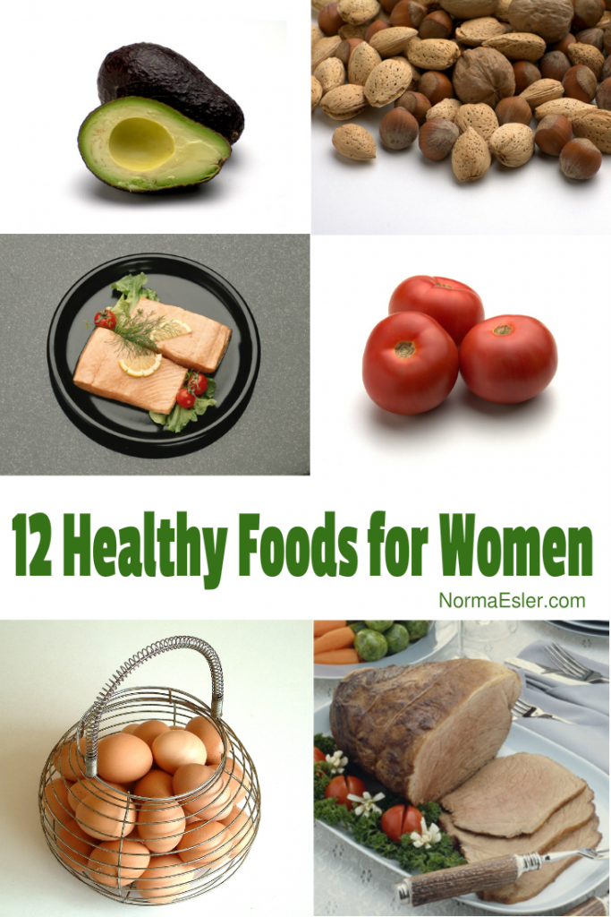 12 Healthy Foods for Women