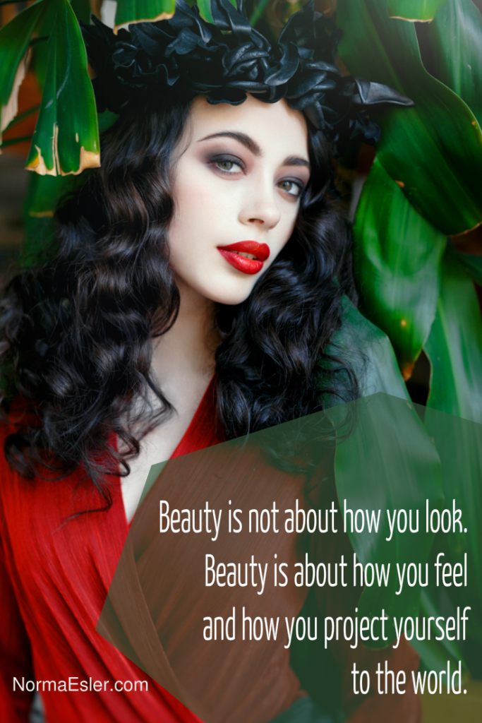 beauty is not about how you look