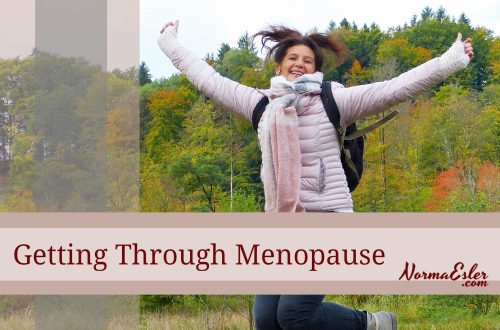 getting through menopause