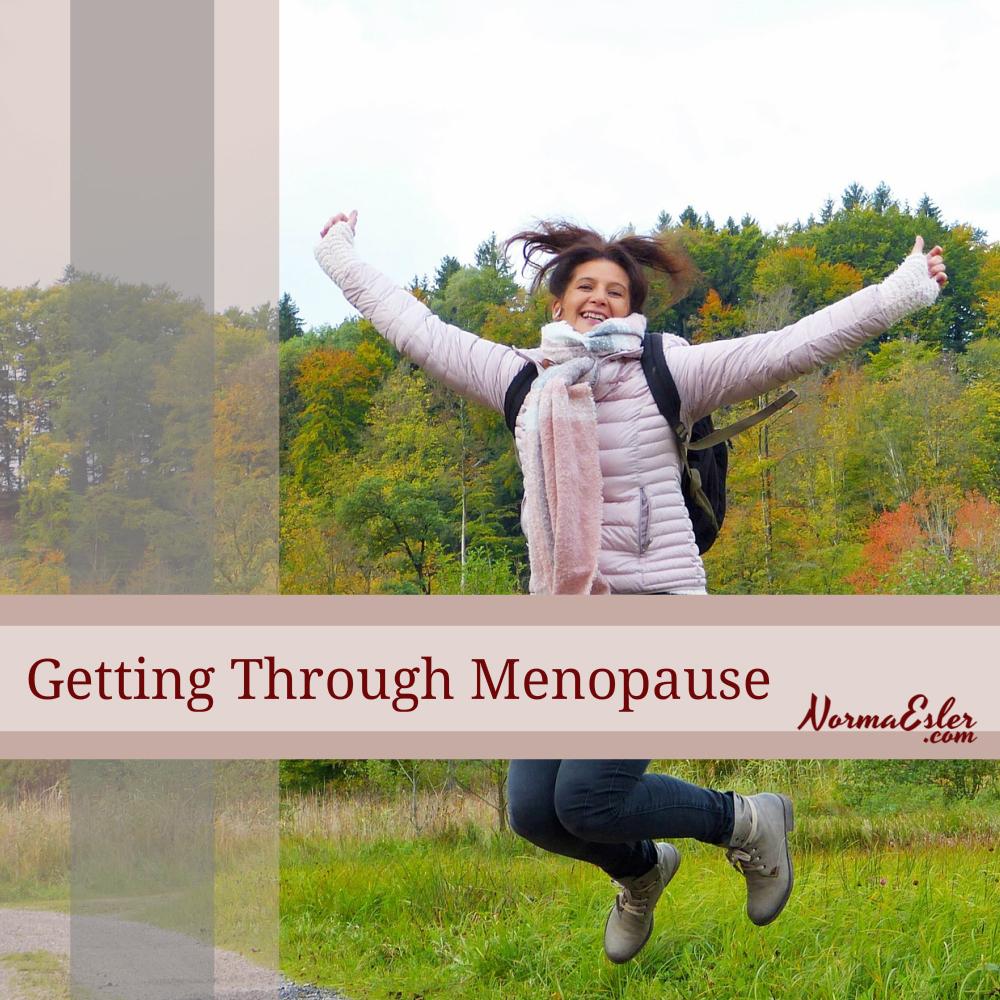 getting through menopause
