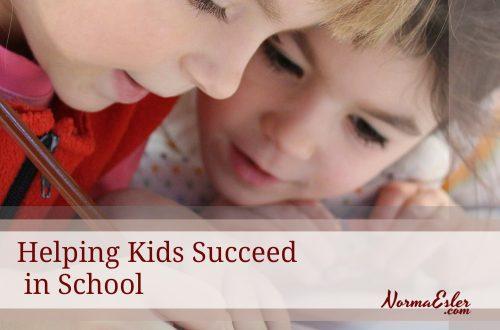 Helping Kids Succeed in School