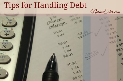 tips for handling debt