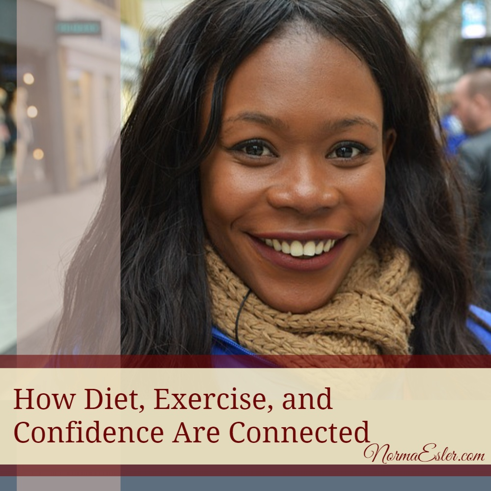 How diet exercise and confidence are related