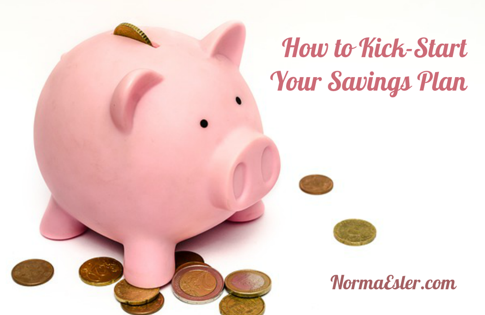 How to Kick-Start Your Savings Plan