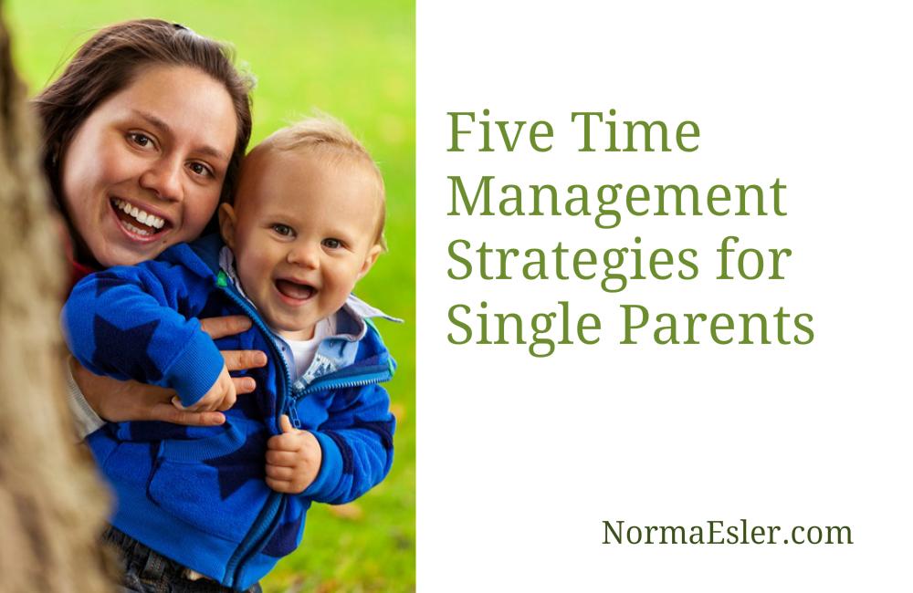 management strategies for single parents