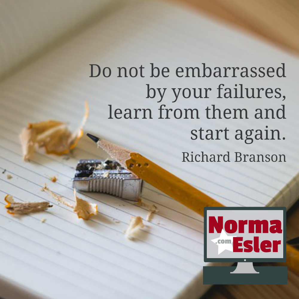 learn from your failures