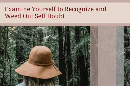 recognize eliminate self doubt