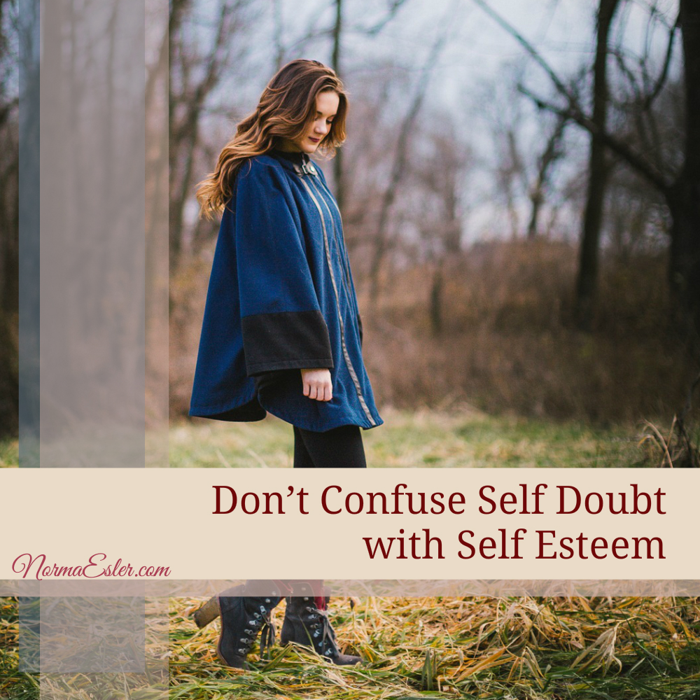 self doubt self esteem