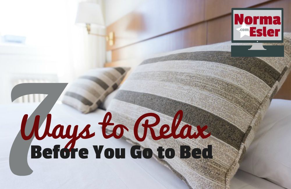 7 Ways to Relax Before You Go to Bed
