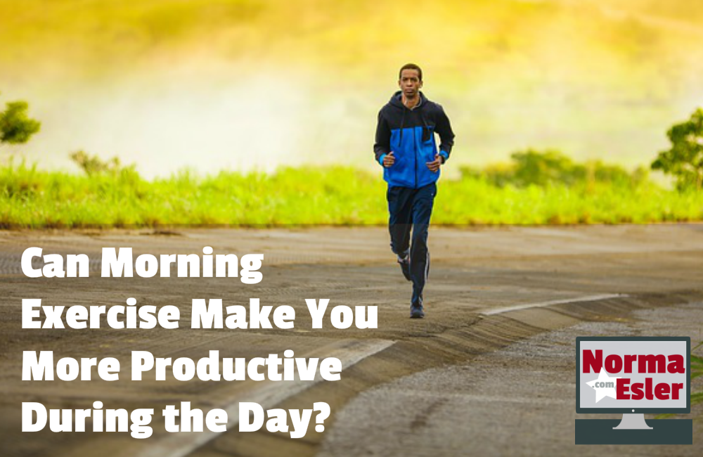 Can Morning Exercise Make You More Productive