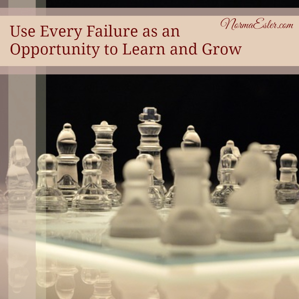 Failure as Opportunity to Grow