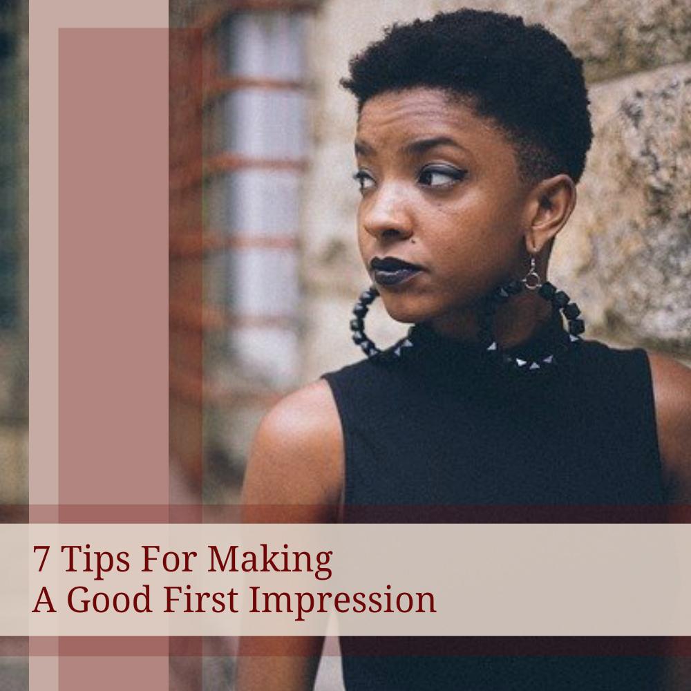 good first impression