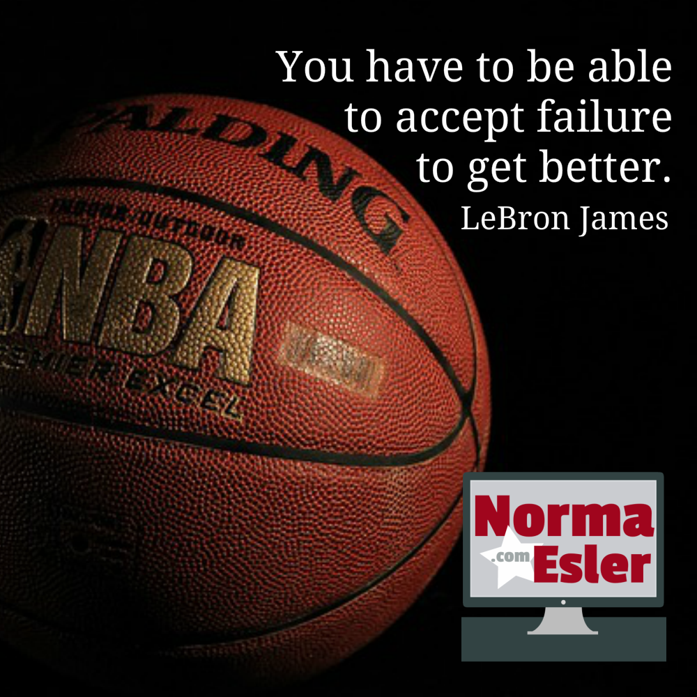 Use Every Failure as Opportunity to Learn and Grow