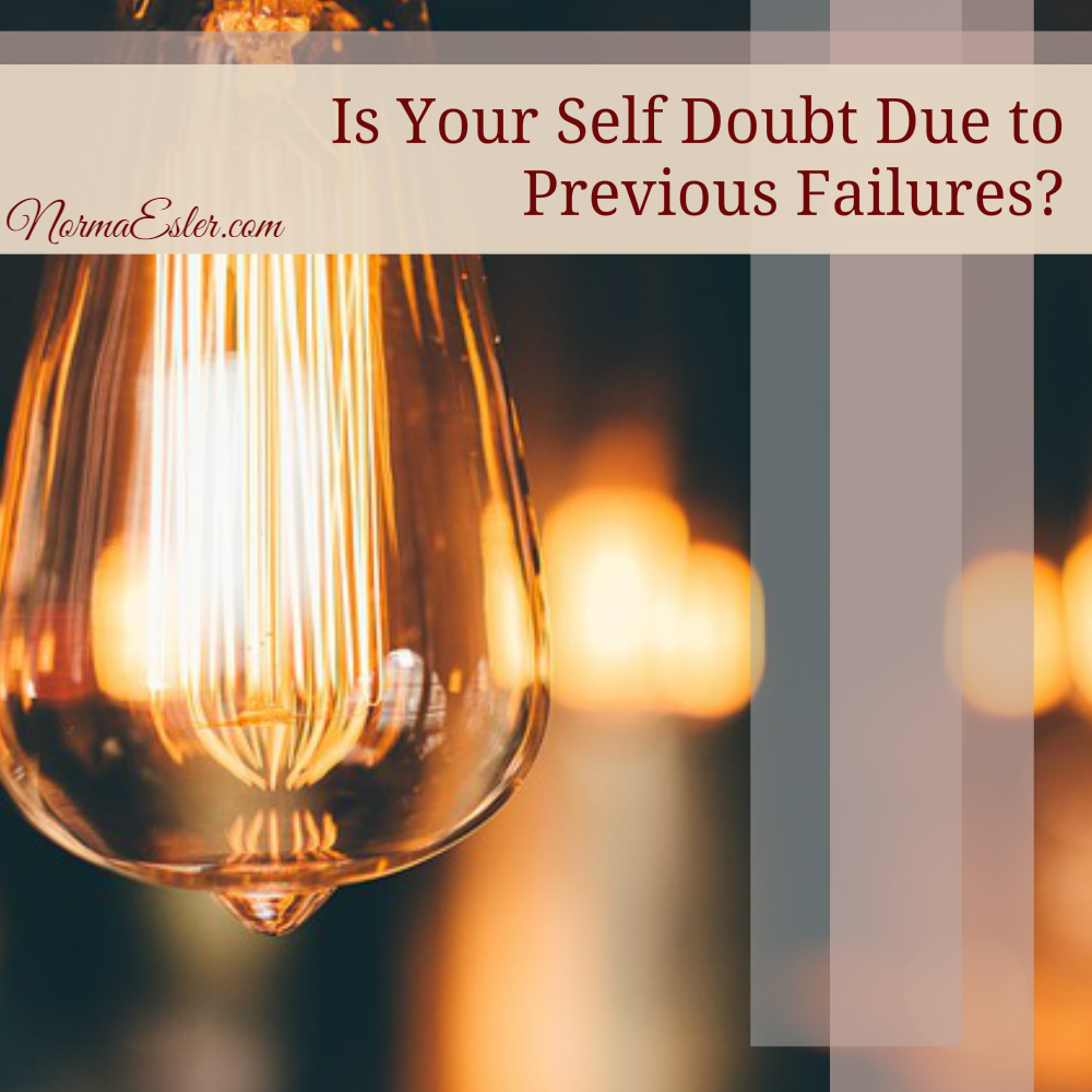 self doubt due to failure