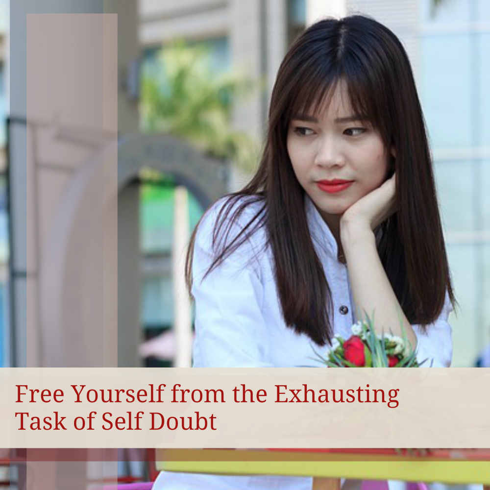 free yourself from self doubt