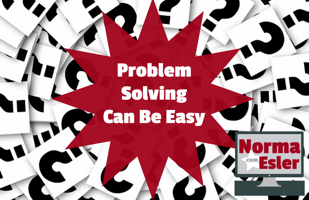 Problem Solving Can Be Easy