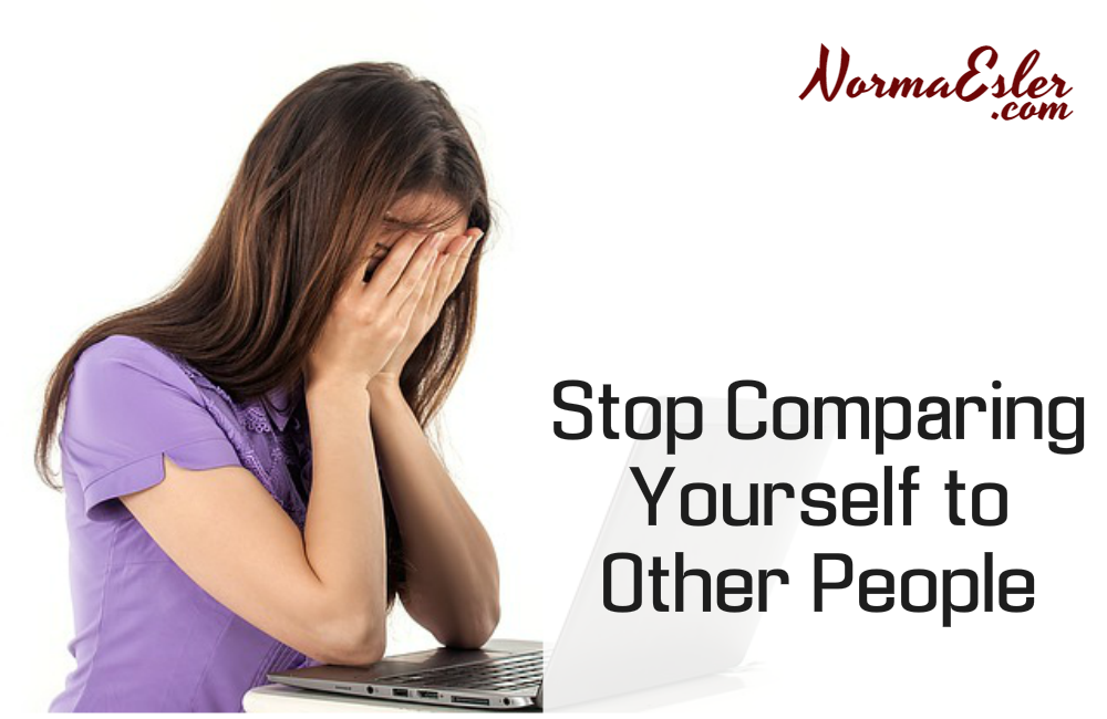 Stop Comparing Yourself to Other People
