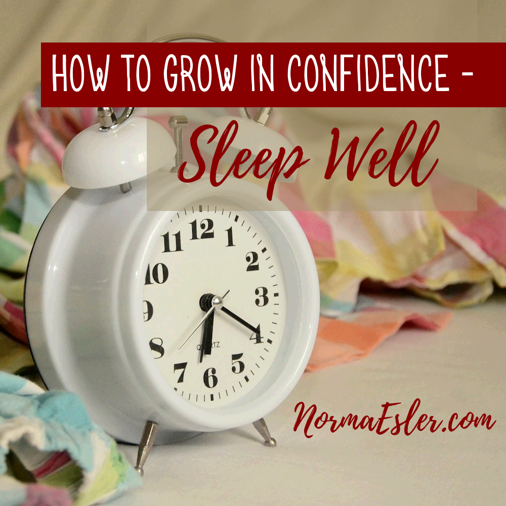 Grow in confidence sleep well