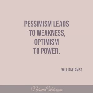 optimism leads to power